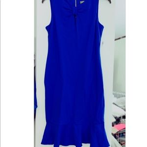 Taylor dress royal blue